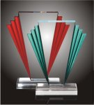 Victory Steps Acrylic Award Traditional Acrylic Awards - Our Best Sellers