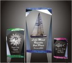 Faceted Rectangle Acrylic Award Traditional Acrylic Awards - Our Best Sellers