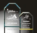 Beveled Clipped Corner Plaque Traditional Acrylic Awards - Our Best Sellers