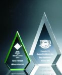Beveled Peaks Acrylic Award Traditional Acrylic Awards - Our Best Sellers
